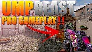 Standoff 2 Pro UMP Beast Gameplay‼️