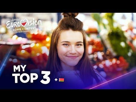 Junior Eurovision 2019 - Top 3 (So far)