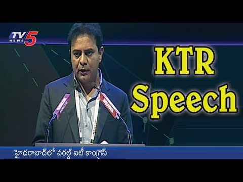Minister KTR Speech at World IT Congress Summit 2018 | Hyderabad