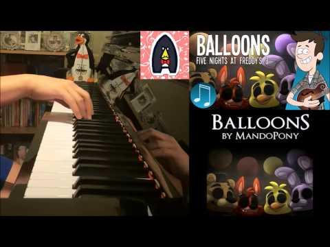 Mandopony Fnaf Balloons