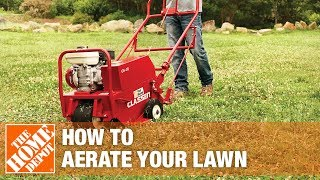 How To Aerate Your Lawn | The Home Depot