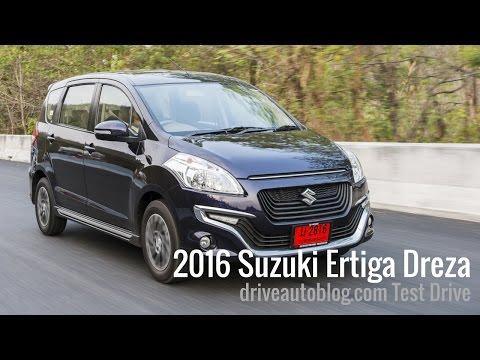 [Test Drive] Suzuki Ertiga Dreza 2016 : 7 ที่นั่งหน้าสวย เครื่อง 1.4 ลิตร หัวใจคือความประหยัด