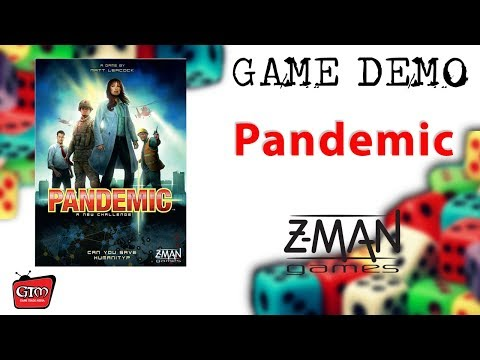 Pandemic by Z-Man Games: Game Demo