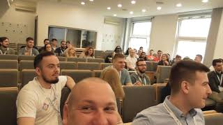 First day on TeamSoc21 in Zagreb Croatia