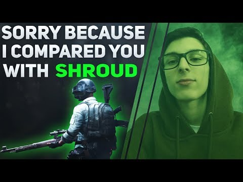 SORRY BECAUSE I COMPARED YOU WITH SHROUD ! FROGMAN1 [COMPILATION]