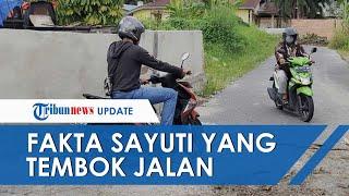 Sederet Fakta Pria Tutup Jalan dengan Tembok, Berawal Merasa Kesal Diklakson saat Keluarkan Mobil