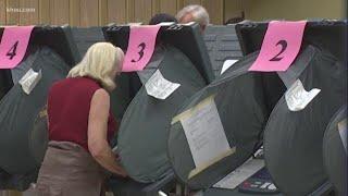 Election Day   Houston residents vote for mayor, amendments