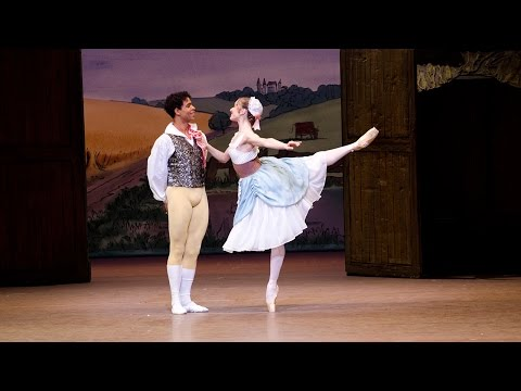 La fille mal gardée – Pas de ruban from Act I (The Royal Ballet)