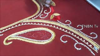 Maggam Work Designs On Pattu Blouses Price The Blouse