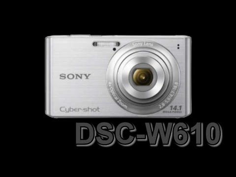 Sony DSC-W610 digital camera.