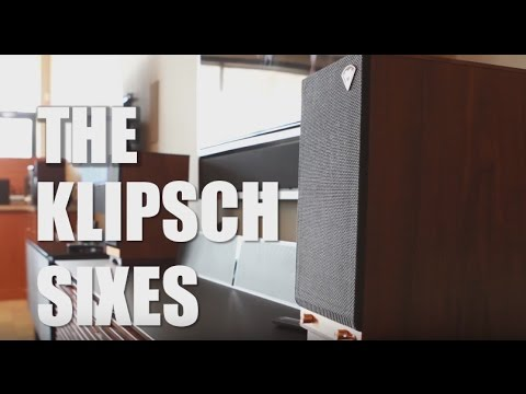 Klipsch's The Sixes - Unboxing