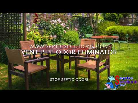 Septic Solutions Activated Carbon Vent Pipe Odor Eliminator Video