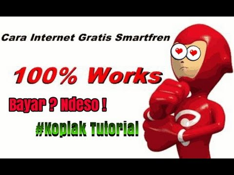 Video Tutorial Internet gratis Smartfren Evdo 0 kuota 0 Pulsa , menggunakan HTTP INJECTOR
