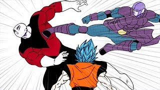 Dragon Ball Super Manga 35 (Completo): Goku y Hit vs Jiren - Hit es eliminado