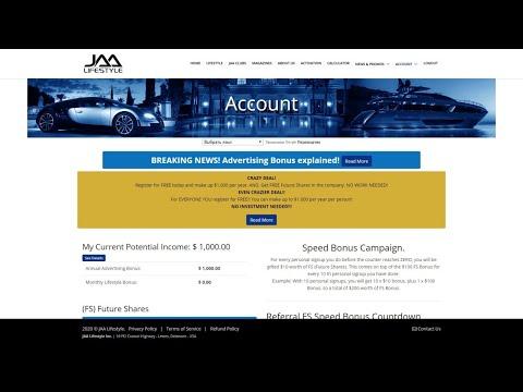 #JaaLifeStyle. Спешите получить бесплатные акции от JaaLifeStyle, создаем пассивный доход!