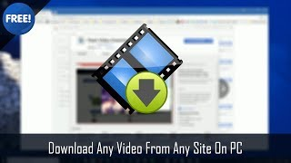 How To Download Any  From Any Site On Pc   & Easy
