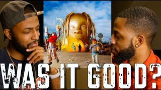 "TRAVIS SCOTT ""ASTROWORLD"" REVIEW AND REACTION #MALLORYBROS 4K"