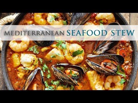 Mediterranean Seafood Stew – Zarzuela de Pescado
