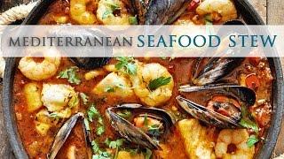 Mediterranean Seafood Stew - Zarzuela De Pescado