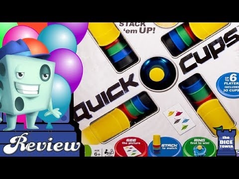 Quick Cups Review - with Tom Vasel