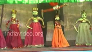 Puppet Show in Champaner, Gujarat