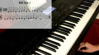Tự Học Đàn Organ - Bài 1