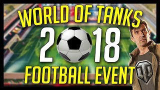 ► Football Mode in World of Tanks - Football Special Event 2018 Gameplay