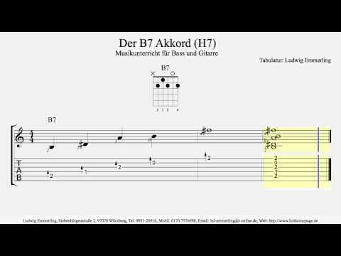 B7 Chord / Der B7 Akkord