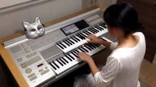 【愛を叫べ Ai wo Sakebe】エレクトーン演奏♪Electone performance☆Challenge of WhiteCats ♪No.4