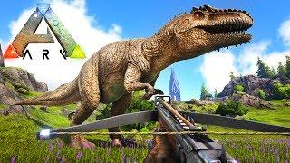 ARK: SURVIVAL EVOLVED - GIGANOTOSAURUS TAMING!! (Ark Max Level Giga)