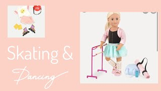 Skating and dancing   Toy review