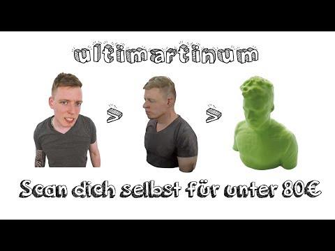 Scan dich selbst für unter 80 €   Die 10 besten Tipps zum 3D Scannen   3D Druck von mir