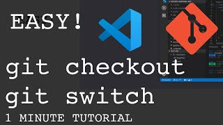 How to switch branch in git in VS Code   Fast tutorial   No command line needed!