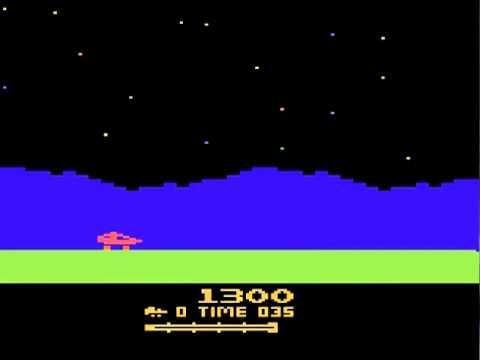 Atari 2600 Moon Patrol 1983 Atari