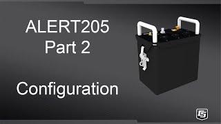alert205 part 2: configuration