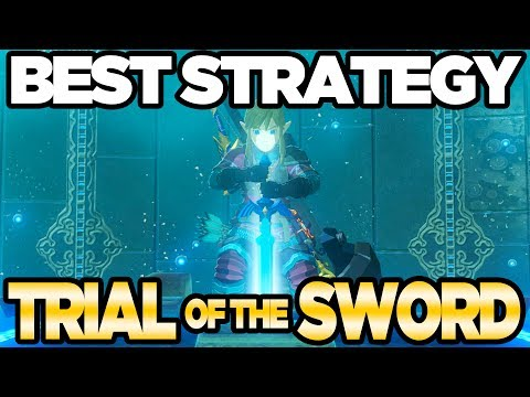 BEST STRATEGY for Trial of the Sword Guide - Breath of the Wild DLC Pack 1 | Austin John Plays