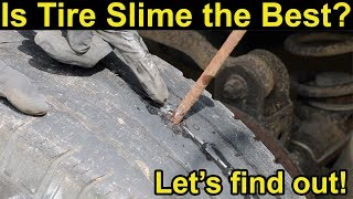 Is Tire Slime the Best? Let's find out!