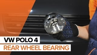 How to replace rear wheel bearing VW Polo TUTORIAL | AUTODOC