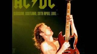 AC/DC - Fire Your Guns - Live [Glasgow 1991]