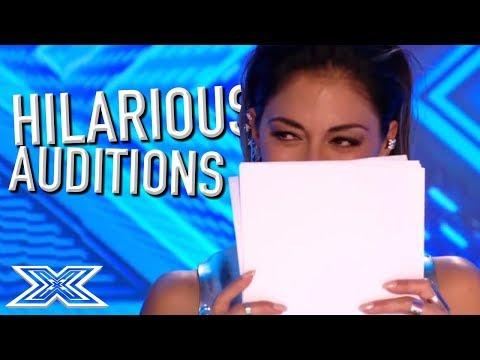 JUDGES Can't Stop LAUGHING on The X Factor! | X Factor Global (видео)