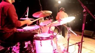 Shuffle - blues na bateria, ao vivo