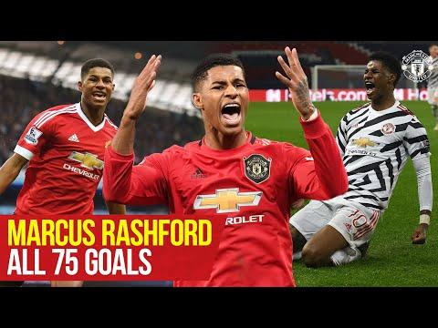 Marcus Rashford reaches 75 goals for Manchester United   Every Goal