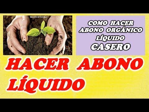 Como Elaborar Abono Orgánico Líquido Para La Huerta
