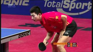 2011 Austrian Open: MA Long - ZHANG Jike - Set7