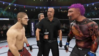 Khabib vs. Midnight Killer (EA Sports UFC 3) ☝️🦅