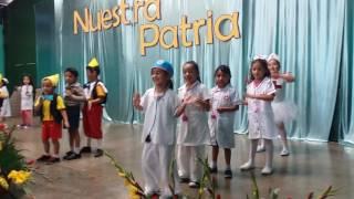 Colegio Nuestra Patria Villa Nueva 2016 Kinder Pinocho