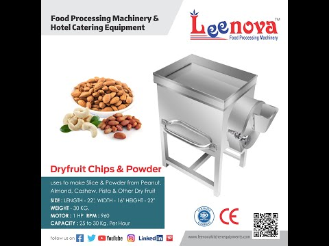 Leenova  Dry Fruit Chips & Powder  Machine