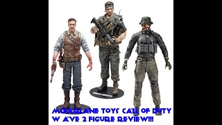 Mcfarlane toys Call of Duty Wave 2 figure review!!!