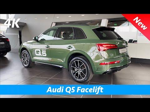 Audi Q5 S Line 2021 - FIRST look in 4K | Exterior - Interior (Facelift) District Green Metallic