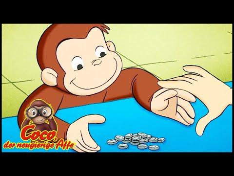Coco der Neugierige Affe Deutsch 🐵Coco und sein Sparschwein 🐵Ganze Folgen🐵Cartoons für Kinder